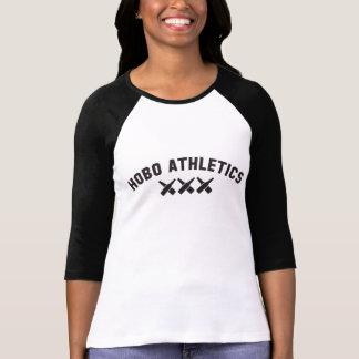 Hobo Athletics Black Logo Design T-Shirt