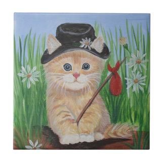 Hobo Cat Tile