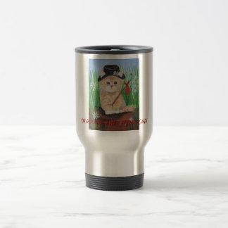 Hobo Cat Travel Mug