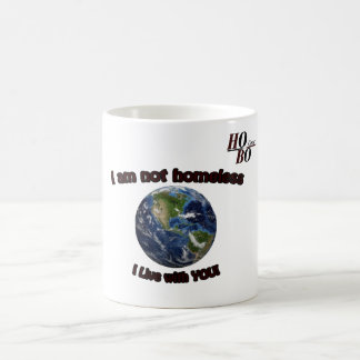 "HoBo Gear ""I Live with you"" Coffee Mug. Coffee Mug"