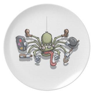 Hobo Von Spiderton Plate