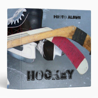 Hockey 2 Photo Album 3 Ring Binders