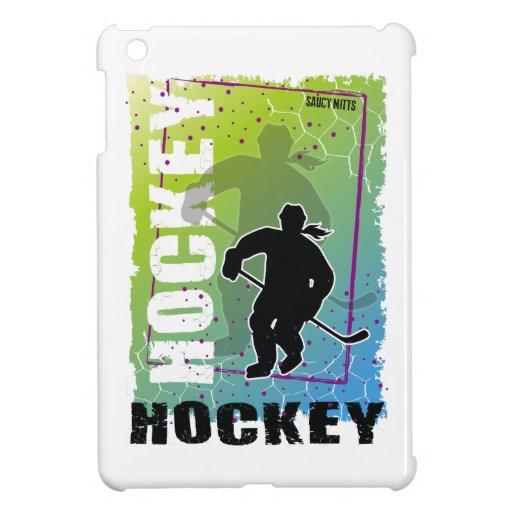 Hockey Abstract (female) iPad Mini Cover