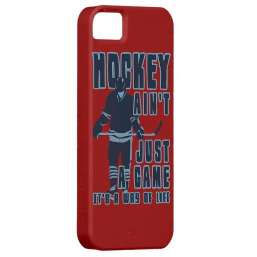 Hockey Ain't Just A Game Cell Phone Case iPhone 5 Case