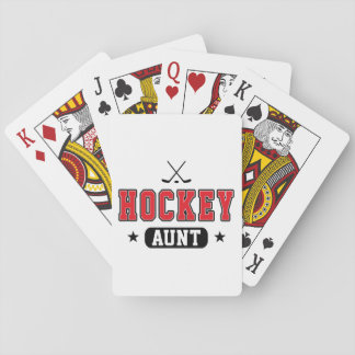 Hockey Aunt Playing Cards