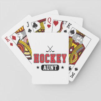 Hockey Aunt Poker Deck