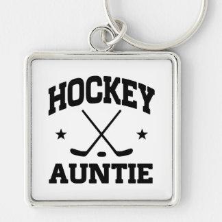 Hockey Auntie Keychain