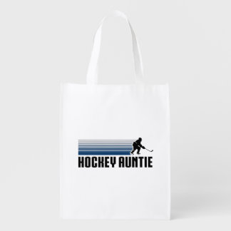Hockey Auntie Reusable Grocery Bags