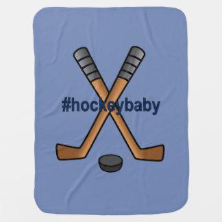 Hockey Baby Fleece Blanket Swaddle Blanket