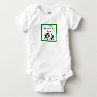 HOCKEY BABY ONESIE