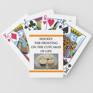 HOCKEY BICYCLE PLAYING CARDS