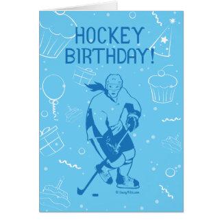 Hockey Birthday! Greeting Card - Female