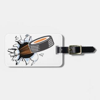 Hockey Breakout Luggage Tag