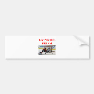 hockey bumper stickers