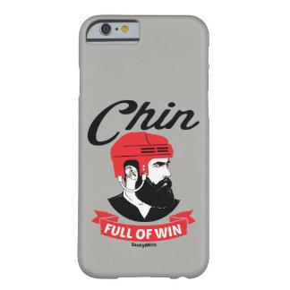 Hockey Chin Full of Win Hockey Beard Barely There iPhone 6 Case
