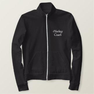 Hockey Coach Embroidered Jacket