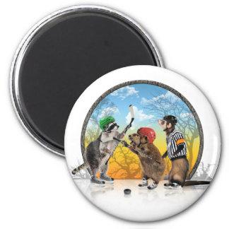 Hockey Critter Classic Magnet