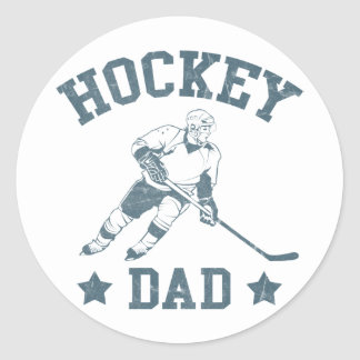 Hockey Dad Cards & Stickers