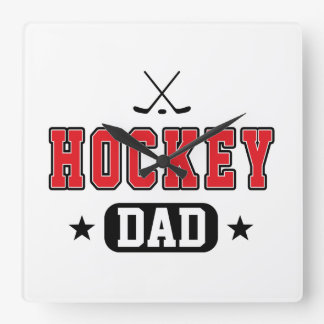 Hockey Dad Clocks