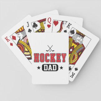 Hockey Dad Poker Deck