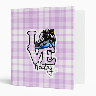 Hockey d'amour classeur vinyle