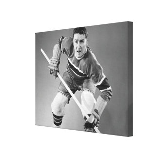 Buy hockey canvas print. Custom designs of hockey. Personalized images for your team.