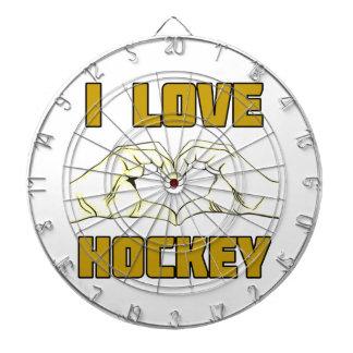 hockey design dartboards