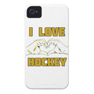 hockey design iPhone 4 cover