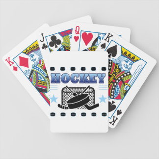 Hockey Fan Bicycle Playing Cards
