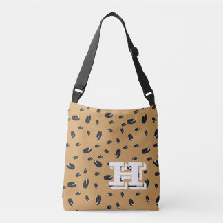 Hockey Fan Monogram Crossbody Bag