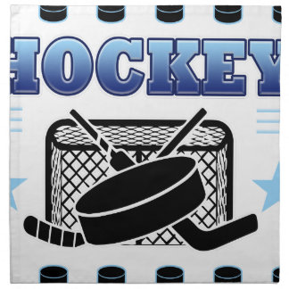 Hockey Fan Napkin