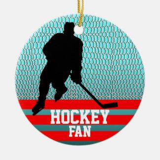 Hockey Fan Ornament Add Photo