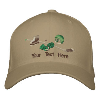Hockey Gear - Customize Embroidered Hat