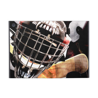 Hockey Gear Grunge Style iPad Mini Cover