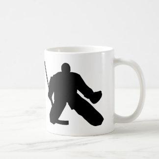 Hockey - Goalie Basic White Mug