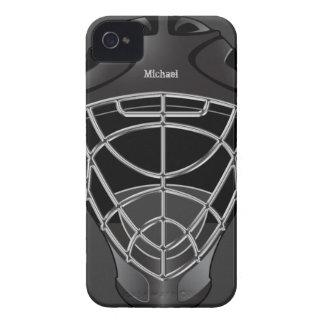 Hockey Goalie Helmet iPhone 4 Covers