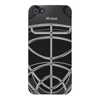 Hockey Goalie Helmet iPhone 5/5S Cover