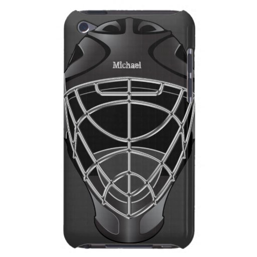 Hockey Goalie Helmet iPod Case iPod Touch Case