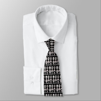 Hockey Goalie Mask Evolution Tie
