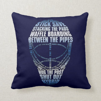 Hockey Goalie Mask Pillow
