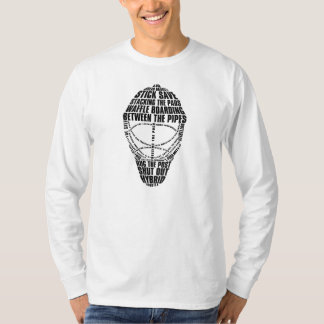 Hockey Goalie Mask T-Shirt, With Name & Number T-Shirt