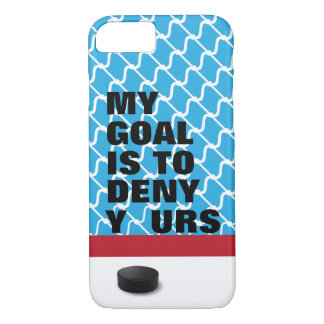 HOCKEY GOALIE Phone case