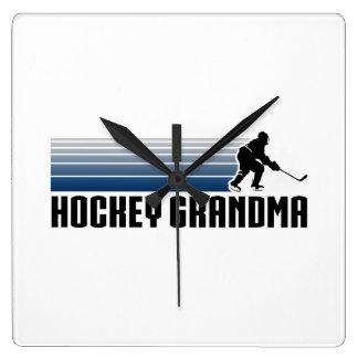 Hockey Grandma Clocks