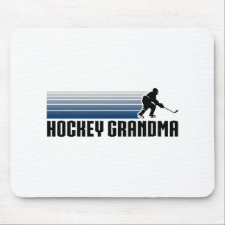 Hockey Grandma Mouse Pad