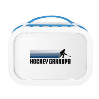 Hockey Grandpa Lunch Box