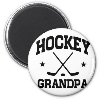 Hockey Grandpa Magnet