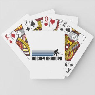 Hockey Grandpa Poker Deck