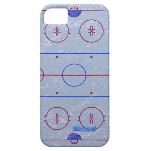 Hockey Ice Rink iPhone 5 Cover