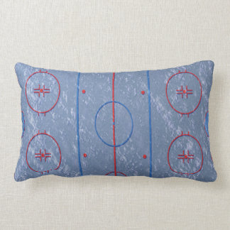 Hockey Ice Rink Field Pitch Pillow