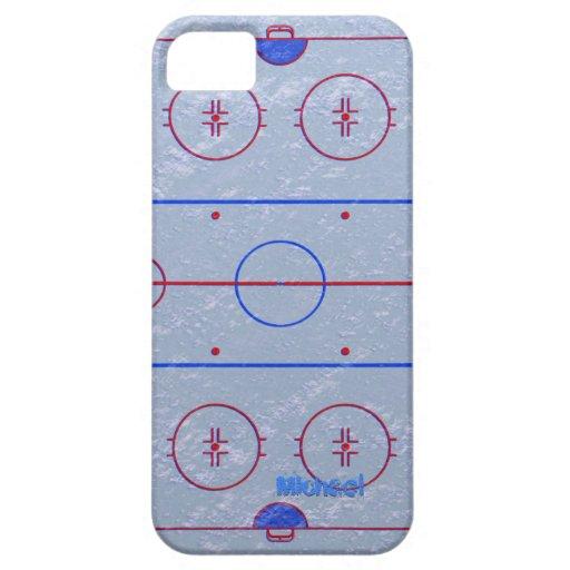 Hockey Ice Rink iPhone 5  Case iPhone 5 Cases